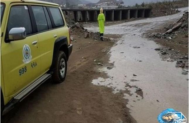 الدفاع المدني: أكثر من 423 بلاغا جراء الأمطار والسيول على مناطق المملكة - صحيفة الخرج نيوز