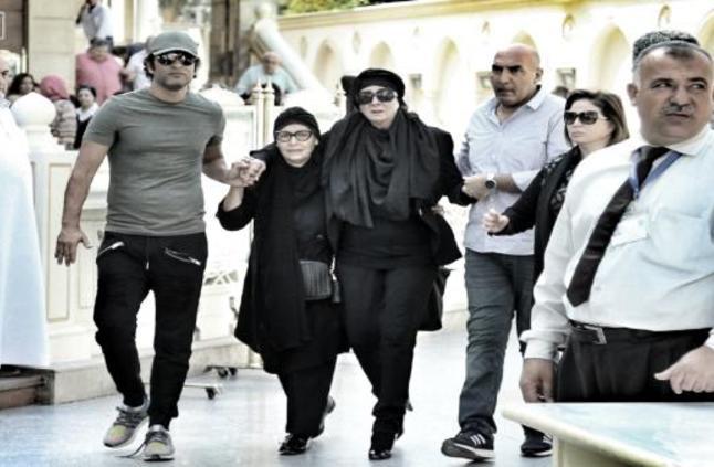 نجلاء فتحي لم تحضر عزاء زوجها الإعلامي حمدي قنديل