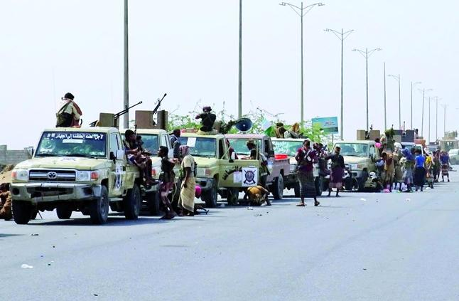 القوات اليمنية تتقدّم داخل الحديدة
