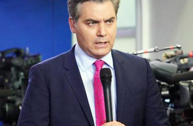 بعد جداله مع ترمب سحب تصريح مراسل CNN