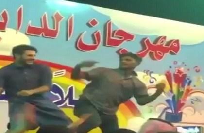إيقاف عرض راقص مخل بالعادات في مهرجان الداير - صحيفة صدى الالكترونية