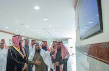 نائب أمير القصيم يطلع على مركز المعلومات بالإمارة