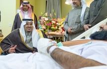 فيديو.. نائب أمير الرياض يكافئ الرائد الوادعي وأبطال المهمة الأمنية في وادي الدواسر