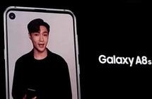 سامسونغ تكشف عن Galaxy A8s.. أول هاتف بكاميرا ضمن الشاشة