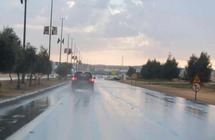 الأمطار تزف الطلاب والطالبات إلى اختبارات الفصل الدراسي الأول