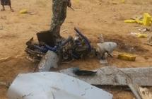 دفاعات الجيش اليمني تسقط طائرة تجسس إيرانية تابعة للمليشيا في مديرية مريس