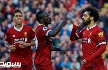 ثلاثي هجوم ليفربول يواجه عقدة مانشستر يونايتد