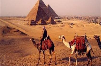 بالفيديو- أهرامات مصر كما لم تراها من قبل