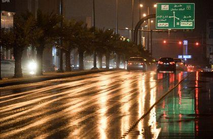 أمطار على منطقة القصيم