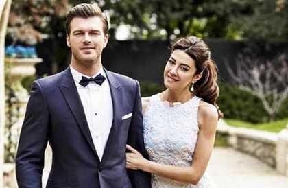 كيفانش تاتليتوج يستقبل العام الجديد برحلة رومانسية مع زوجتهنهال ناصر