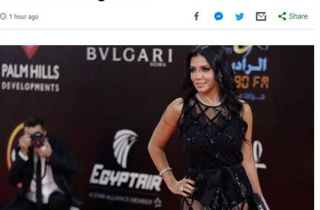 هكذ تناولت الصحافة العالمية أزمة رانيا يوسف.. فستان مثير ربما يرسل صاحبته للسجن!مروة لبيب