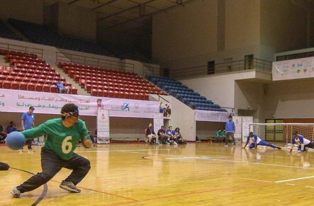"""انطلاق بطولة """"رؤية"""" لكرة الهدف للمكفوفين في دورتها الأولى » صحيفة صراحة الالكترونية"""