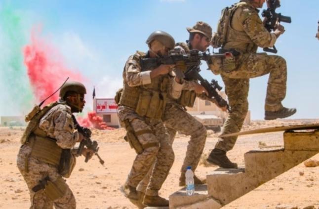 اقتحام وتطهير الأماكن المحصنة.. ضمن مهام القوات السعودية في مناوراتالنجم الساطع 2018