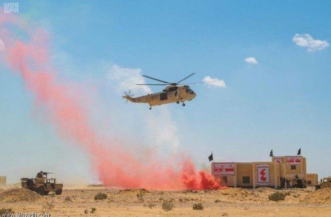 استمرار مناورات تمرين «النجم الساطع 2018» في  مصر