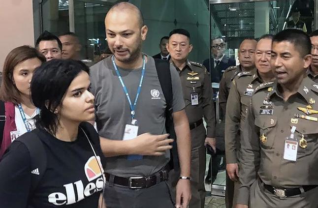 """تايلاند: السعودية """"رهف"""" تغادر البلاد متوجهة إلى كندا"""