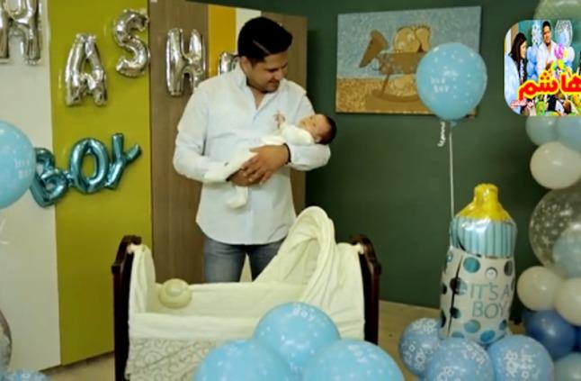 أربع ملايين مشاهدة لأغنية عمر الصعيدي لمولوده هاشم