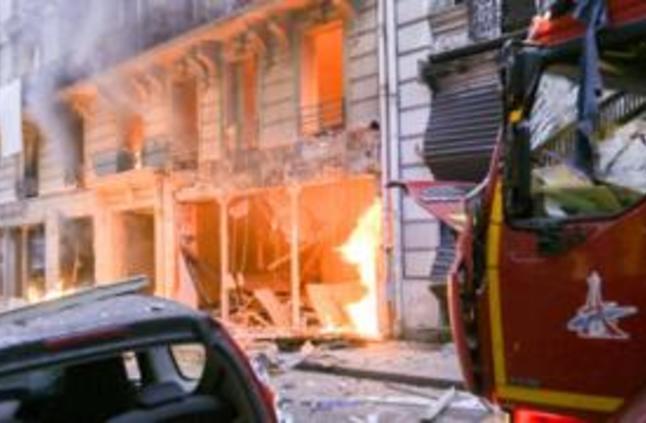 """""""انفجار غاز"""" في مخبز في قلب العاصمة الفرنسية"""
