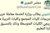 «الشورى» لـ«عكاظ»: لسنا مسؤولين عن تنفيذ قرارات المجلس