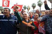 إضراب تونس... النقابات تعود للشارع ونزيف الاقتصاد يتواصل