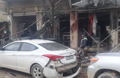 مقتل جنود أمريكيين في تفجير منبج.. شاهد لحظة وقوعه
