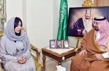 أمير منطقة نجران يستقبل عضو الشورى كوثر الأربش