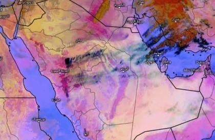 العاصفة الترابية تتحرك.. والمسند يكشف حدود الموجة الأولى ويتوقع