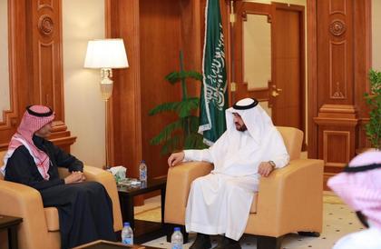 مدير جامعة طيبة يستقبل المدير التنفيذي للمركز الوطني للتقويم والاعتماد الأكاديمي