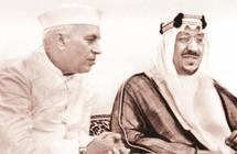 فيديو نادر لزيارة الملك سعود للهند وبرفقته الملوك فيصل وفهد وعبدالله قبل 78 عاماً