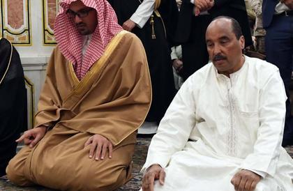 الرئيس الموريتاني يزور المسجد النبوي