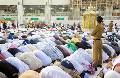أداء صلاة الخسوف بالمسجد الحرام » صحيفة صراحة الالكترونية