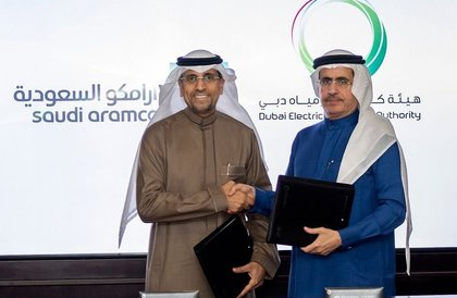 أرامكو السعودية وهيئة كهرباء ومياه دبي تبحثان أوجه التعاون في مجال إمدادات الكهرباء وإدارتها
