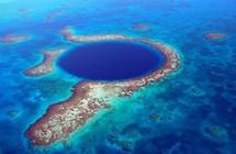 """اكتشاف خطير داخل """"الحفرة الزرقاء العظيمة""""!"""