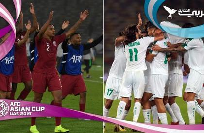 """كأس آسيا 2019: قمة بين """"العنابي"""" و""""أسود الرافدين"""""""