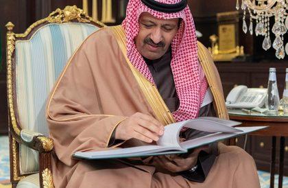 أمير الباحة يستقبل مدير عام فرع هيئة الأمر بالمعروف والنهي عن المنكر بالمنطقة