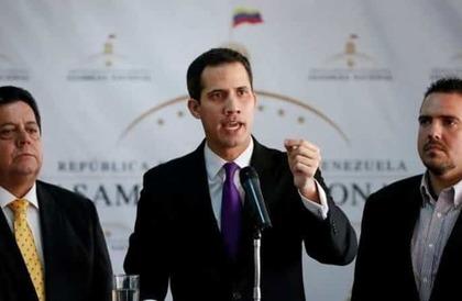 """رئيس البرلمان الفنزويلي يعين نفسه رئيساً للبلاد.. و""""ترامب"""" يعترف به"""