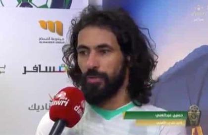 """""""حسين عبدالغني"""" في أول تصريح له بعد خسارة """"الأهلي"""": كنت أنتظر تمثيل النادي منذ 10 سنوات.. وهذا موقفه من مهاجميه!"""