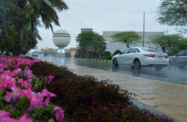 «الأرصاد»: أمطار رعدية على 7 مناطق