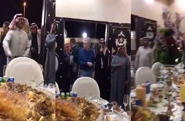 بالفيديو.. وليمة كبيرة يقيمها مواطن لكادر مستشفى الملك سلمان بحائل - صحيفة صدى الالكترونية