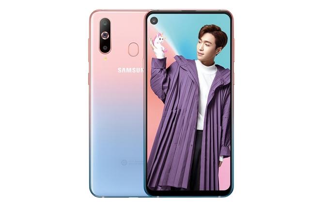 Unicorn Pink هو اللون الخامس الذي يحصل عليه الهاتف Galaxy A8S - إلكتروني
