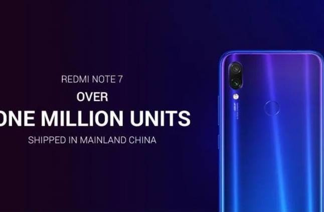 شاومى تحقق هدفها وتبيع مليون هاتف Redmi Note 7 فى أول شهر