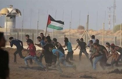 غزة: إصابة 19 فلسطينياً في مواجهات مع الجيش الإسرائيلي