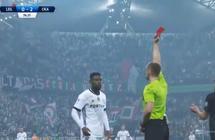 """فيديو                                      بسبب تقنية """"الفيديو""""... حالة طرد غريبة في الدوري البولندي"""