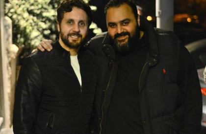 """صورة- هكذا يظهر شيكو وهشام ماجد في مسلسلهما """"اللعبة""""نهال ناصر"""