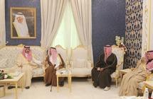 نائب أمير منطقة مكة يزور خلال جولته في محافظة الطائف كُلاً من بن حميد و الشيباني في منزلهما