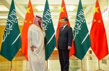 الرئيس الصيني يلتقي ولي العهد ويقيم له مأدبة عشاء ويستعرضان تطورات الأوضاع الإقليمية والدولية