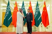 بالصور: الرئيس الصيني يستقبل ولي العهد بقاعة الشعب الكبرى في بكين