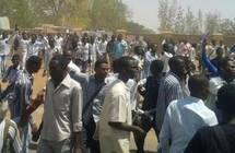 غاز الأمن يفرق متظاهري الخرطوم