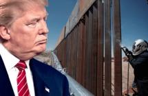 ترامب ينشر فيديو لبناء الجدار القوي مع المكسيك ويؤكد: نسابق الزمن والعمل مستمر