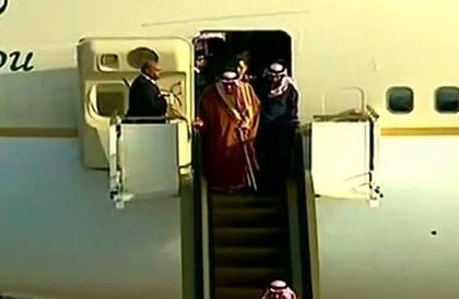 خادم الحرمين الشريفين يصل إلى مصر » صحيفة صراحة الالكترونية