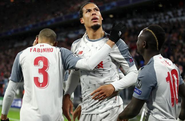 ليفربول وبرشلونة يكملان عقد المتأهلين لربع نهائي دوري الأبطال